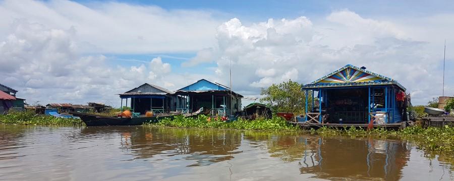 Cambodge Lac Tonle Sap