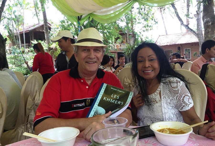 Séjour au Cambodge, histoire khmère